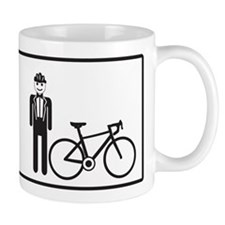 Bike Widow Small Mug