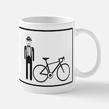 Bike Widow Small Small Mug