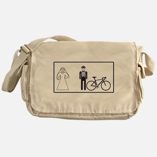Bike Widow Messenger Bag