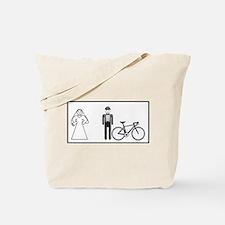 Bike Widow Tote Bag