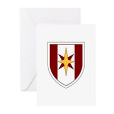44th Medical Command SSI Greeting Cards (Pk of 10)