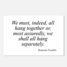Benjamin Franklin quote 173 Postcards (Package of