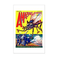 Amazing Giant Fly Cover Art Posters