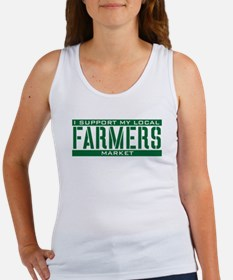I Support My Local Farmers Market Women's Tank Top