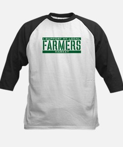 I Support My Local Farmers Market Tee
