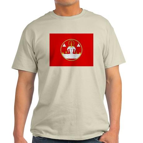 Laotian Royal Coat of Arms Light T-Shirt