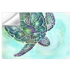 Sea Turtle 11 x 17 Print Wall Decal