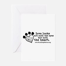 Cool Blind dog Greeting Cards (Pk of 20)