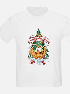 Do Not Open Until Christmas T-Shirt