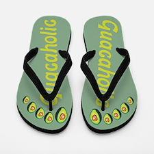Guacaholic Flip Flops