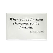 Benjamin Franklin quote 183 Rectangle Magnet