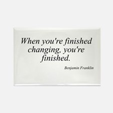 Benjamin Franklin quote 183 Rectangle Magnet