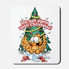 Do Not Open Until Christmas Mousepad
