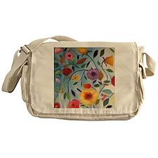 GARDEN FLOWERS Messenger Bag