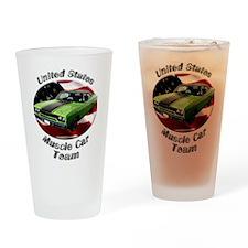 Plymouth Roadrunner Drinking Glass