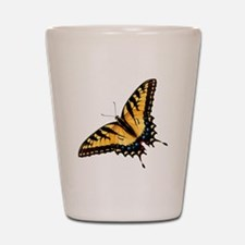 Tiger Swallowtail Butterfly Shot Glass