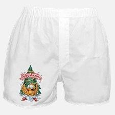 Do Not Open Until Christmas Boxer Shorts