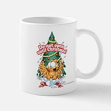 Do Not Open Until Christmas Mug