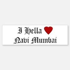 Hella Love Navi Mumbai Bumper Bumper Bumper Sticker
