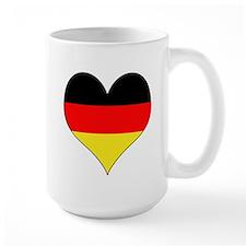 Germany Heart Mug
