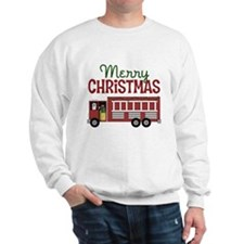 Firefighter Christmas Sweatshirt