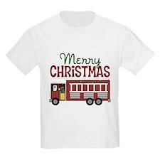 Firefighter Christmas T-Shirt