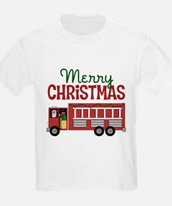 Firefighter Christmas T-Shirt