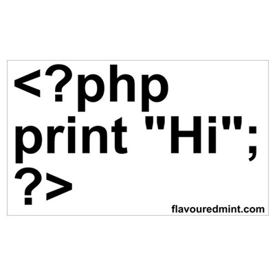 php Poster