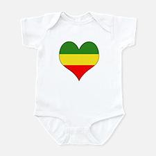 Ethiopia Heart Infant Bodysuit