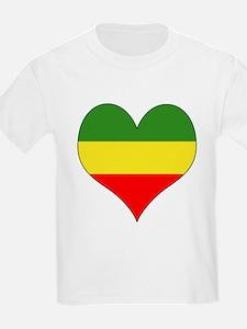 Ethiopia Heart T-Shirt