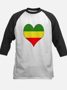 Ethiopia Heart Kids Baseball Jersey