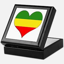 Ethiopia Heart Keepsake Box