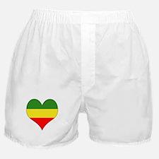 Ethiopia Heart Boxer Shorts