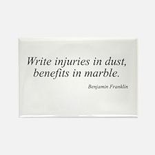 Benjamin Franklin quote 195 Rectangle Magnet