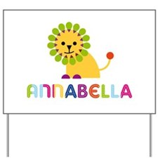 Annabella the Lion Yard Sign