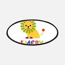 Emery the Lion Patches