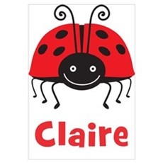 Claire Ladybug Poster