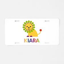 Kiara the Lion Aluminum License Plate
