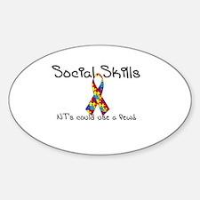 Social Skills Autism Asperger's awareness Decal