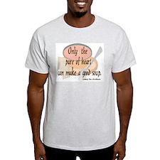 Good (tomato) Soup Ash Grey T-Shirt