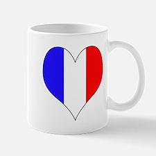 France Heart Mug