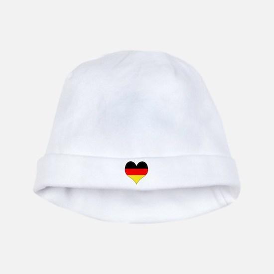 Germany Heart baby hat