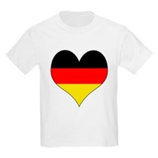 Germany Heart T-Shirt