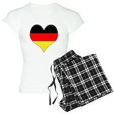 Germany Heart Pajamas