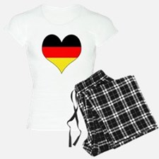 Germany Heart Pajamas