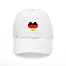 Germany Heart Baseball Baseball Cap