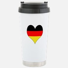 Germany Heart Stainless Steel Travel Mug