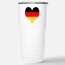 Germany Heart Travel Mug