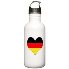 Germany Heart Water Bottle