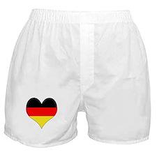 Germany Heart Boxer Shorts